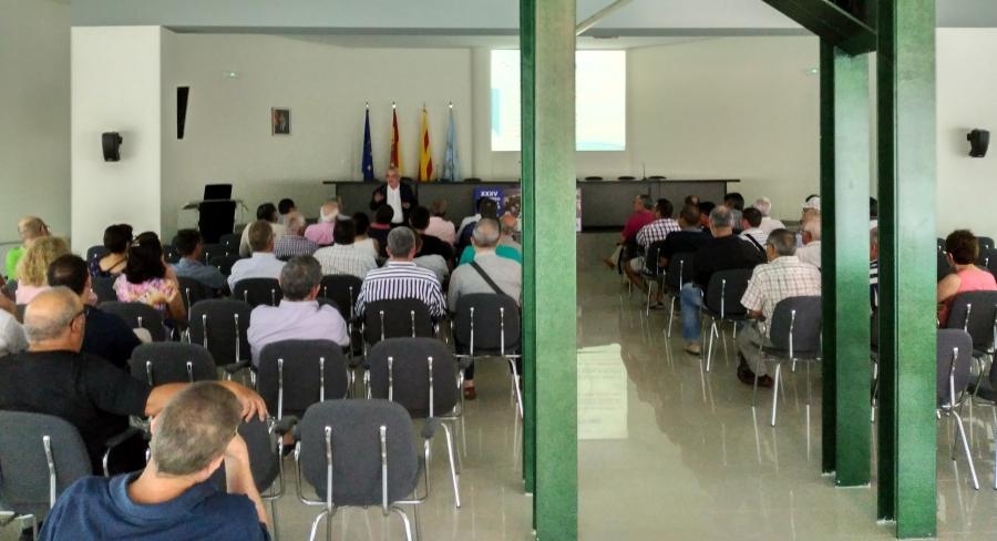Comunitat General de Regants de la Dreta de l´Ebre : NOTÍCIES : Jornada – estudi a càrrec del sr. Lluís Berga Casafont