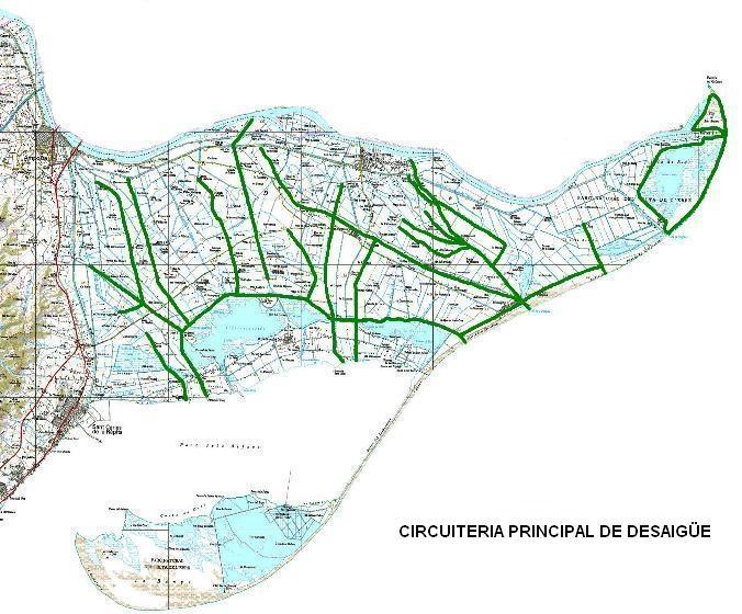 Comunitat General de Regants de la Dreta de l´Ebre : OBJECTE COMUNITAT : Infraestructura de reg i desguassos